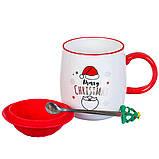 """Чашка """"Новогодняя"""" 400мл *рандомный выбор дизайна (8200-021), фото 6"""