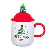 """Чашка """"Новогодняя"""" 400мл *рандомный выбор дизайна (8200-021), фото 7"""