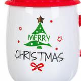"""Чашка """"Новогодняя"""" 400мл *рандомный выбор дизайна (8200-021), фото 8"""