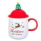 """Чашка """"Новогодняя"""" 400мл *рандомный выбор дизайна (8200-021), фото 10"""