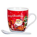 """Чашка  """"Новый год"""" 200 мл. *рандомный выбор дизайна (8201-012), фото 3"""