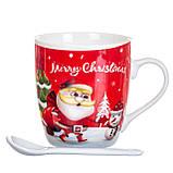 """Чашка  """"Новый год"""" 200 мл. *рандомный выбор дизайна (8201-012), фото 4"""