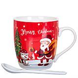 """Чашка  """"Новый год"""" 200 мл. *рандомный выбор дизайна (8201-012), фото 5"""