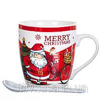 """Чашка """"Новорічна"""" 200 мл.  *рандомний вибр дизайну (8201-011), фото 2"""