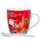 """Чашка """"Санта"""" 200 мл. *рандомный выбор дизайна (8201-010), фото 3"""