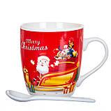 """Чашка """"Санта"""" 200 мл. *рандомный выбор дизайна (8201-010), фото 4"""