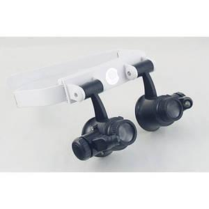 Бінокулярні окуляри з LED підсвічуванням TH-9202, (Оригінал)
