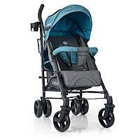 Візок дитячий ME 1029 BREEZE Ocean прогулянковий, тростина, колеса 4 шт., сіро-м'ятний.