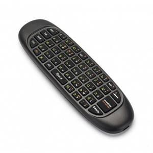 Пульт C120 безпровідна мишка Air Keyboard Mouse з російською клавіатурою Аэропульт, (Оригінал)