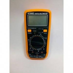 Цифровий Професійний мультиметр VC890D тестер вольтметр, (Оригінал)