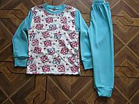 Детские пижамы для девочек 4.5.6. 8.9  лет Турция интерлок