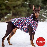 Жилет для собаки утеплений DIEGO sport 7/1 мікс, розмір 7
