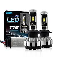 Комплект светодиодных ламп Raych Turbo T1S H7 40 W, 5000К, Cree XHP60