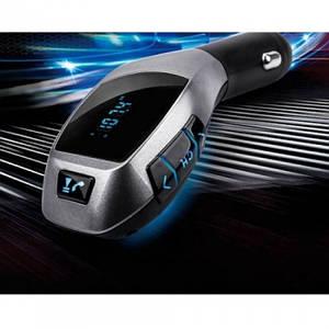 Автомобільний FM трансмітер модулятор H20 Bluetooth MP3, (Оригінал)