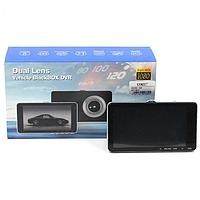 Видеорегистратор автомобильный DVR Z30 HD1080 5'' с экраном и камерой заднего вида 1920 x 1080 5 Мп, фото 1