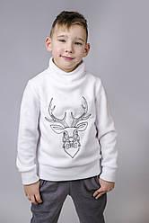 Свитер с оленем для мальчика