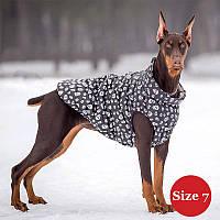 Жилет для собаки утепленный DIEGO sport  7/6 череп, размер 7, фото 1