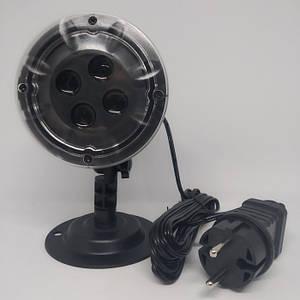Вуличний лазерний проектор Star Shower SE326-02 ЧОРНИЙ, (Оригінал)