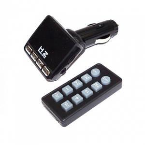 Автомобільний FM трансмітер модулятор H19 MP3, (Оригінал)