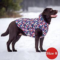 Жилет для собаки утепленный DIEGO sport  8/1 микс, размер 8, фото 1