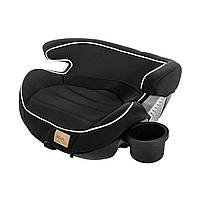Автокресло бустер черное Carrello Atom для детей от 4 до 12 лет и весом от от 15 до 36 кг