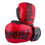 Боксерські рукавиці PowerPlay 3017 Червоні карбон 14 унцій, фото 8