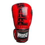 Боксерські рукавиці PowerPlay 3017 Червоні карбон 14 унцій, фото 10