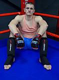 Рукавички для MMA PowerPlay 3058 Чорно-Червоні M, фото 5