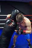 Рукавички для MMA PowerPlay 3058 Чорно-Червоні M, фото 7