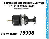 0004302526 Энергоаккумулятор Mercedes 814 Тип 9/16 с фланцем 4254521000 Турция, фото 1