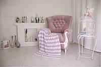 Плед детский - OTM-Design Волна, фиолетовый