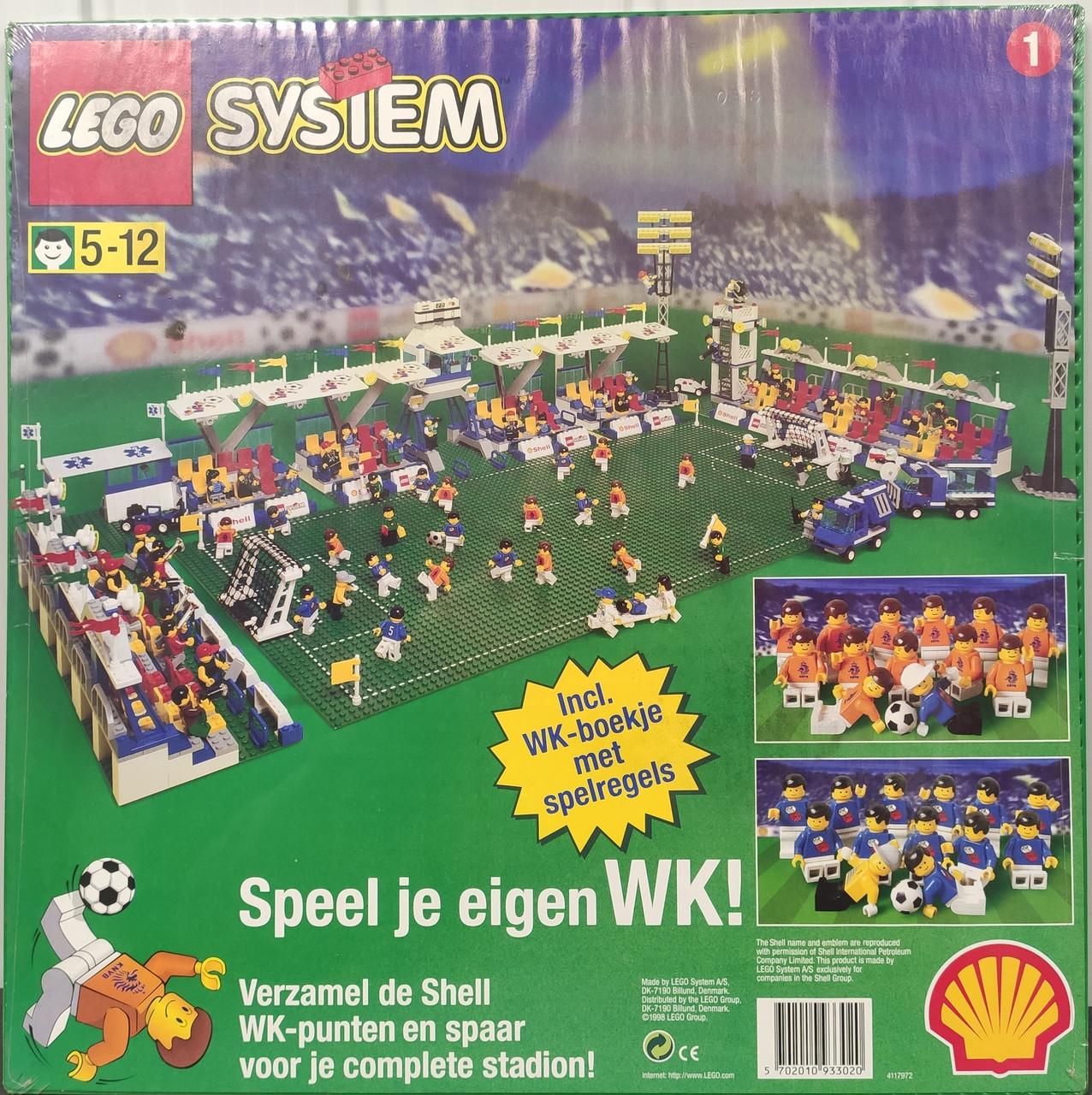 Lego System Большая Зеленая Строительная Пластина
