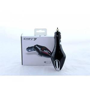 Автомобільний FM трансмітер модулятор V7 Bluetooth MP3, (Оригінал)