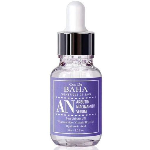 Осветляющая интенсивная сыворотка Arbutin 5% + Niacinamide 5% Cos De Baha