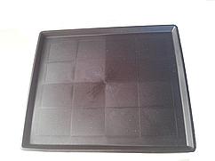 Поддон пластиковый. 49х58х2,5 см Пластиковые поддоны для клеток.
