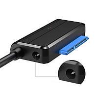 Переходник SATA USB 3.0 для жесткого диска SSD/HDD без блока