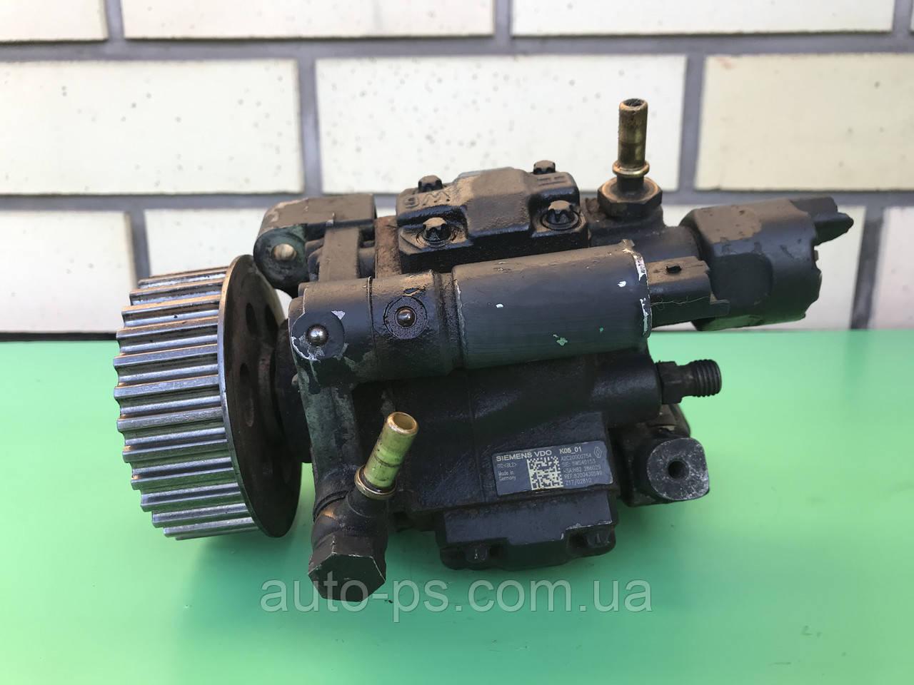 Топливный насос высокого давления (ТНВД) Renault Grand Modus 1.5dCi