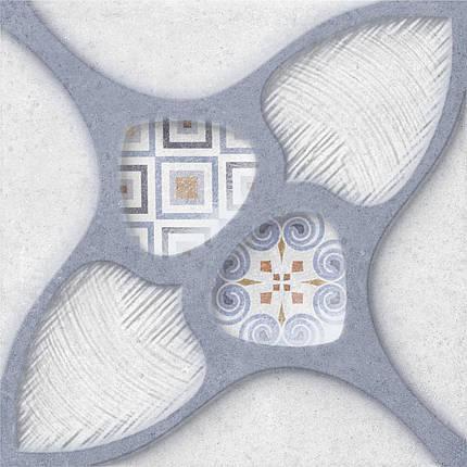 Плитка облицовочная OSET KUBRICK RELIEF BLUE 200x200, фото 2
