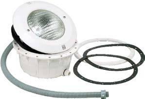 Прожектор для плёночных бассейнов с кабелем 300Вт/12В