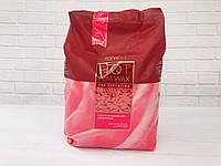 Воск для депиляции пленочный горячий в гранулах ItalWax, 1000 г - роза (винный)  Rose, фото 1