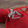 Серебряное кольцо Трикси вставка белые фианиты вес 3.5 г размер 20.5, фото 2