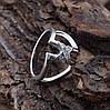 Серебряное кольцо Трикси вставка белые фианиты вес 3.5 г размер 20.5, фото 5