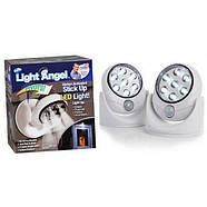 Светодиодный LED светильник Light Angel с датчиком движения, фото 3