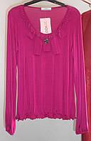Малиновая блуза Lookat, фото 1
