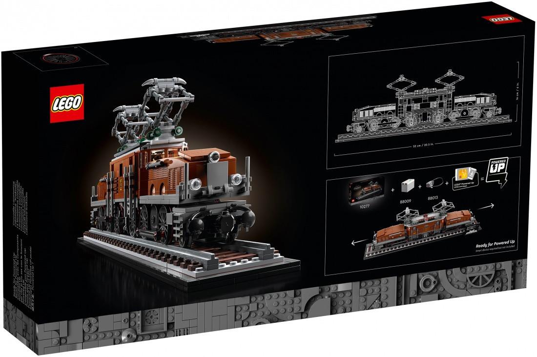 Lego Creator Expert Локомотив Крокодил
