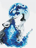 Картина по номерам ArtStory Песня волка 30*40см