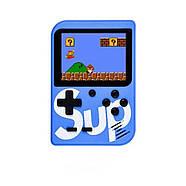 Портативная игровая приставка на 400 игр dendy SEGA 8bit SUP Game Box Синяя, фото 2