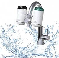 Универсальный бойлер-кран, водонагреватель электрический для дома с встроенным фильтром Delimano ZSW-D01