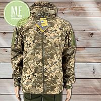 Тактическая Куртка SoftShell Пиксель