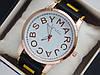 Мужские (Женские) кварцевые наручные часы Marc Jacobs на каучуковом ремешке